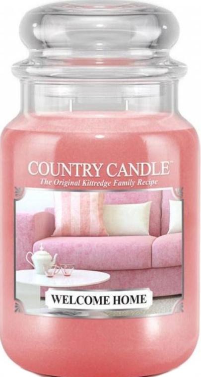Ароматическая свеча в банке - Country Candle Welcome Home
