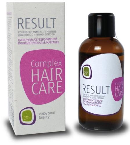 Концентрированный бустер для восстановления и питания волос - Result Hair Care