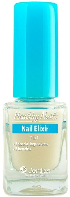 Мультифункциональное средство для ухода за ногтями № 163 - Jerden Healthy Nails Elixir 7in1