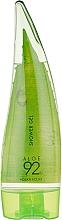 Духи, Парфюмерия, косметика Успокаивающий гель для душа с алоэ - Holika Holika Aloe 92% Shower Gel