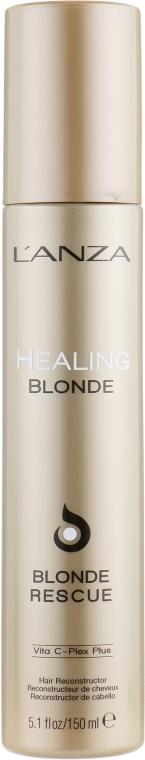 Крем для реконструкции обесцвеченных волос - L'anza Healing Blonde Rescue