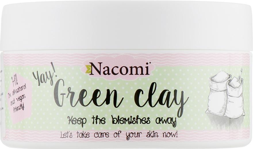 """Глиняная маска для лица """"Зеленая глина"""" - Nacomi Green Clay"""