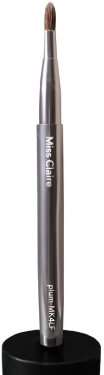 Кисть для губ в футляре из колонка MK4LF - Miss Claire Plum