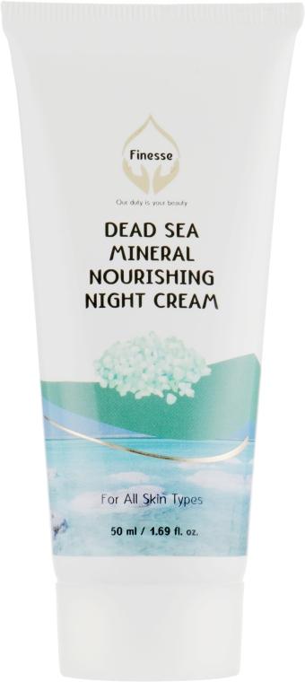 Ночной питательный крем с минералами Мертвого моря - Finesse Mineral Nourishing Night Cream Tube