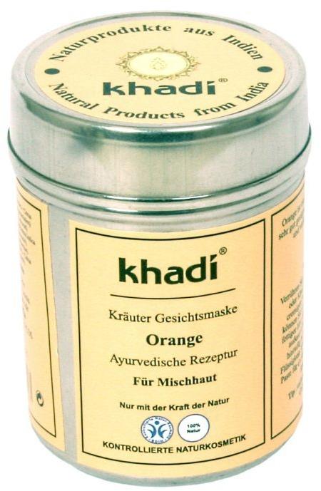 """Растительная маска для лица и тела """"Orange"""" - Khadi"""