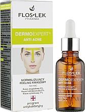 Духи, Парфюмерия, косметика Нормализующий кислотный пилинг для жирной кожи - Floslek Dermo Expert Anti Acne Acid Peeling
