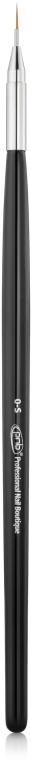 Круглая кисть для дизайна - PNB 7D Round Gel Brush 0-S