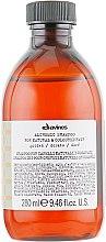 Духи, Парфюмерия, косметика Шампунь для натуральных и окрашенных волос (золотой) - Davines Alchemic Shampoo