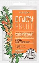 Духи, Парфюмерия, косметика Горячее масло для волос с облепихой - Marion Enjoy Fruit Hot Oil Hair Treatment