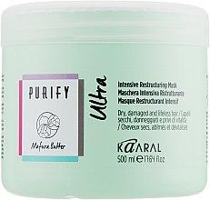 Духи, Парфюмерия, косметика Интенсивно-восстанавливающая маска для волос - Kaaral Purify Mask