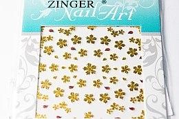 Духи, Парфюмерия, косметика Наклейки для дизайна ногтей, fda-201 - Zinger Nail Art Sticker
