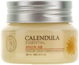 Духи, Парфюмерия, косметика Увлажняющий крем для лица - The Face Shop Calendula Essential Moisture Cream