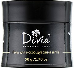 Духи, Парфюмерия, косметика Гель прозрачный, моделирующий для наращивания ногтей Di971 - Divia Base Coat