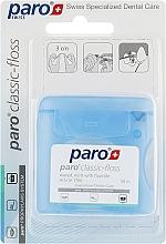 Духи, Парфюмерия, косметика Медицинская зубная нить, вощеная, с мятой - Paro Swiss Classic-Floss