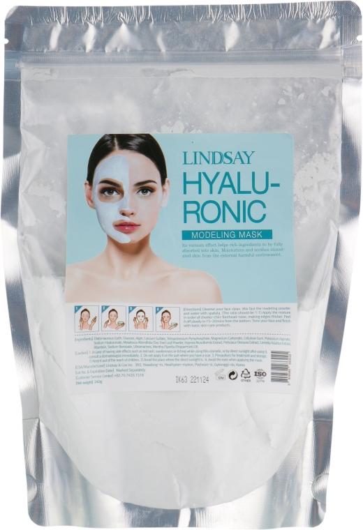 "Моделирующая маска для лица ""Гиалуроновая"" - Lindsay Hyaluronic Modeling Mask"