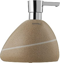Духи, Парфюмерия, косметика Дозатор керамический для жидкого мыла - Spirella Etna Sand