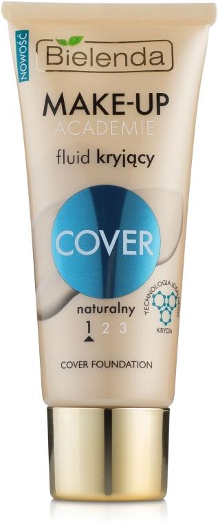 Тональный крем с покрывающими способностями - Bielenda Make-Up Academie Cover Foundation