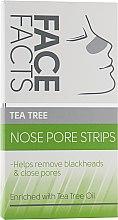 Духи, Парфюмерия, косметика Очищающие полоски для носа - Face Facts Tea Tree Nose Pore Strips