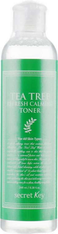 Тонер для проблемной кожи лица - Secret Key Tea Tree Refresh Calming Toner