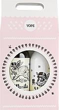 """Духи, Парфюмерия, косметика Набор """"Ваниль и корица"""" - Yope Vanilla & Cinnamon (liq/soap/500ml + b/lot/300ml)"""