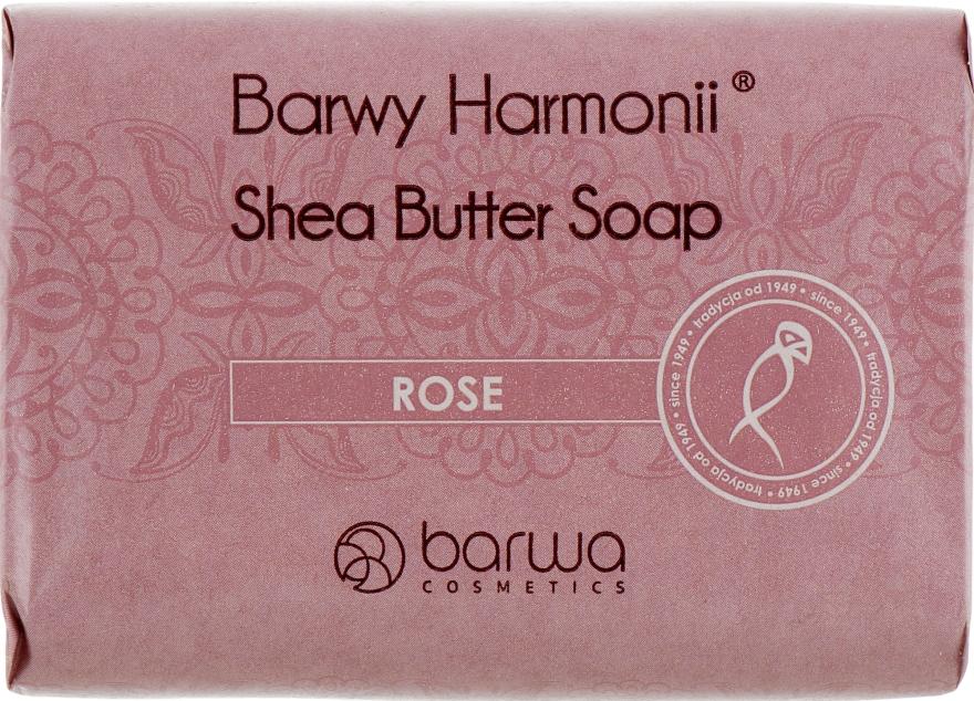 Мыло с экстрактом розы и маслом Ши - Barwa Barwy Harmonii Rose Shea Butter Soap