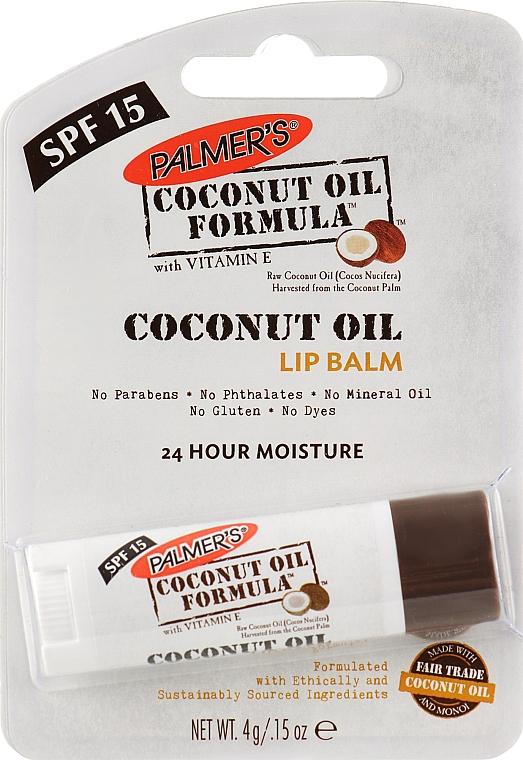 Бальзам для губ - Palmer's Coconut Oil Formula Lip Balm