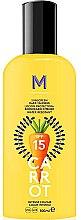 Духи, Парфюмерия, косметика Солнцезащитный крем для темного загара - Mediterraneo Sun Carrot Sunscreen Dark Tanning SPF15