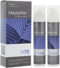 Духи, Парфюмерия, косметика Набор для выпрямления волос M70 - Erayba Masterker M70 Kerafruit Relaxer (lot/100ml + lot/100ml)