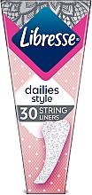 Духи, Парфюмерия, косметика Ежедневные прокладки, 30шт - Libresse Daily Fresh String