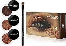 Духи, Парфюмерия, косметика Набор для макияжа глаз - Bellapierre Eye Slay Kit Copper Glam