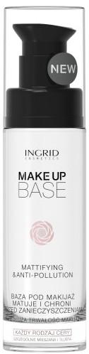 Обезжиренная матирующая база - Ingrid Cosmetics Make Up Base Mattifying & Anti-Pollution