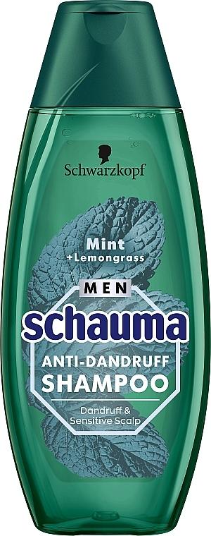 """Шампунь для мужчин """"Мята и лемонграсс"""" - Schwarzkopf Schauma Men Anti-Dandruff Shampoo"""