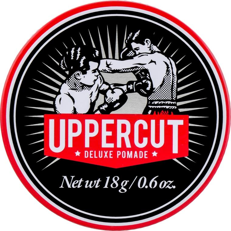 Помада для укладки волос сильной фиксации - Uppercut Deluxe Pomade Barber Tin (мини)