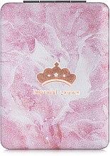 """Духи, Парфюмерия, косметика Зеркало косметическое прямоугольное, """"Imperial Crown"""", розовое - Lily Cosmetics"""