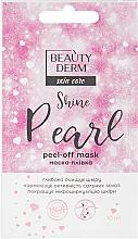 Духи, Парфюмерия, косметика Маска-пленка для лица - Beauty Derm Skin Care Shine Pearl Peel-off Mask
