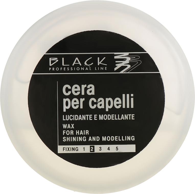 Воск с мокрым эффектом - Black Professional Line Water Wax