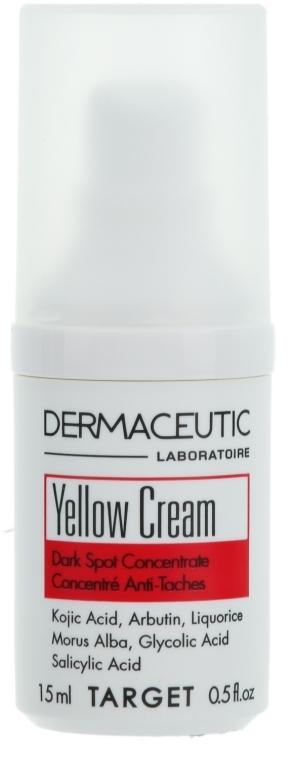 Нічний депігментуючий крем - Dermaceutic Laboratoire Yellow Cream Depigmenting Concentrate — фото N1
