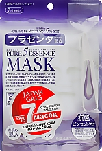 """Духи, Парфюмерия, косметика Маска для лица с плацентой """"Pure5"""" - Japan Gals Pure5 Essential"""
