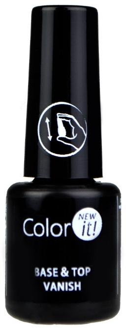 Silcare Color It Base Top Coat 2 in 1 - База-топ для ногтей 2 в 1: купить по лучшей цене в Украине | Makeup.ua