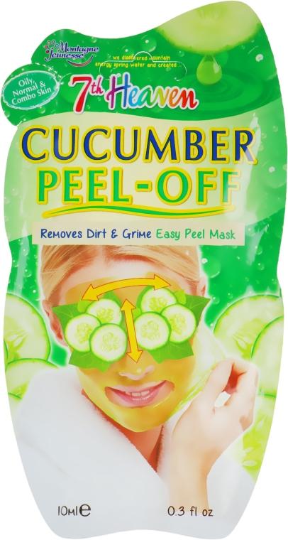 """Маска-пленка для лица """"Огурец"""" - 7th Heaven Cucumber Peel Off Mask"""
