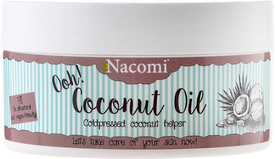 """Масло """"Кокосовое, нерафинированное"""" - Nacomi Coconut Oil 100% Natural Unrefined"""