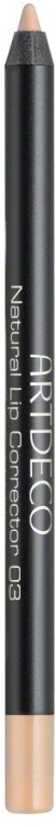 Олівець для губ - Artdeco Natural Lip Corrector — фото N1