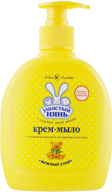 """Детское мыло жидкое """"с оливковым маслом и экстрактом алоэ"""" - Ушастый нянь"""