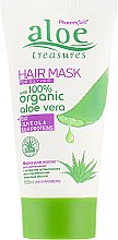 Духи, Парфюмерия, косметика Маска для нормальных и жирных волос с алоэ вера - Pharmaid Aloe Treasures Organic Aloe Vera Hair Mask