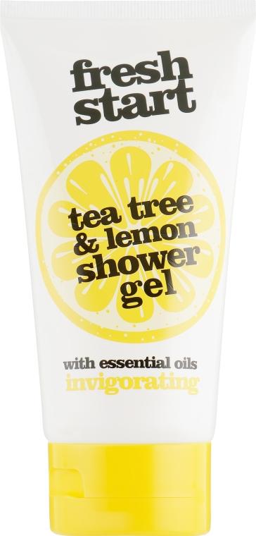Освежающий крем-гель для душа «Чайное дерево и лимон» - Xpel Marketing Ltd Fresh Start Tea Tree & Lemon Shower Gel Tube