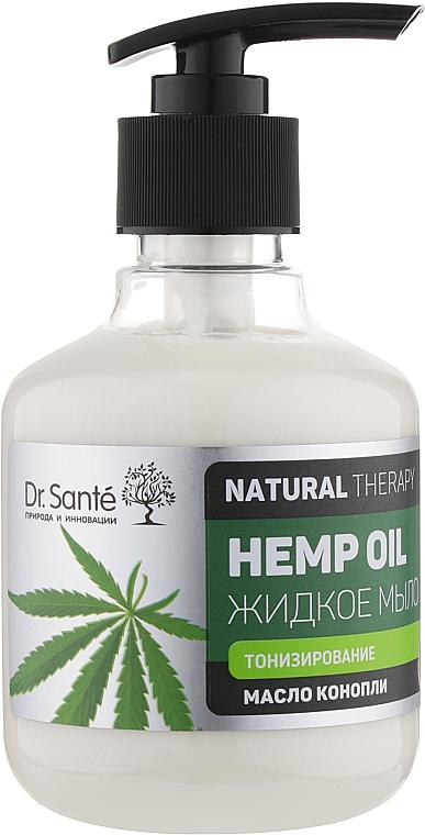 """Жидкое мыло для тела """"Тонизирование"""" - Dr. Sante Natural Therapy Hemp Oil"""