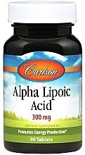 Духи, Парфюмерия, косметика Альфа-липоевая кислота, 300мг - Carlson Labs Alpha Lipoic Acid