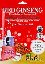 Духи, Парфюмерия, косметика Тканевая маска с экстрактом красного женьшеня - Ekel Red Ging Seng