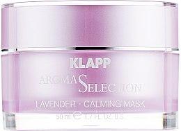 "Крем-маска ""Лаванда Антистресс"" - Klapp Aroma Selection Lavender Calming Mask — фото N2"