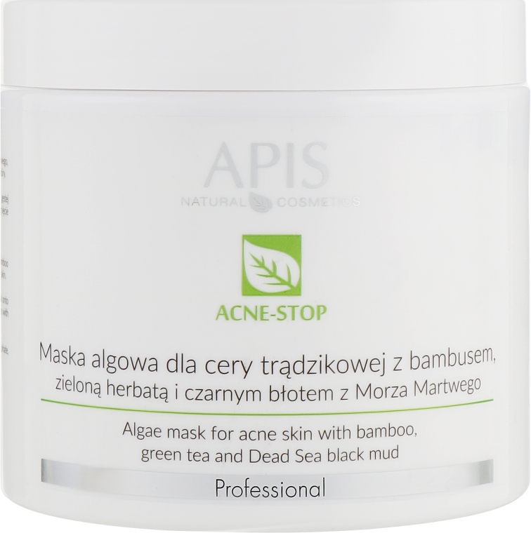 Маска для лица - APIS Professional Algae Mask For Acne Skin